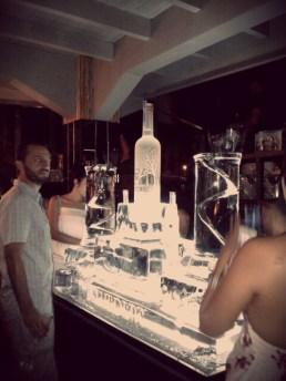 The biggest Vodka bottle I've ever seen until now. :D