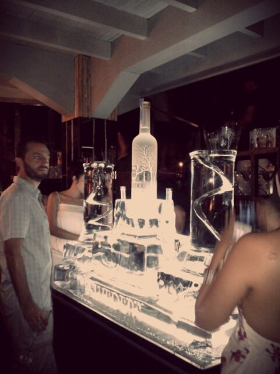 The biggest Vodka bottle I've ever seen until now. :D