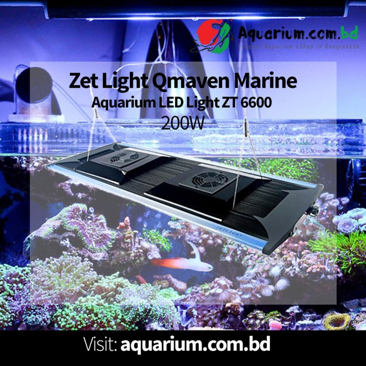 Marine LED QMAVEN ZT6600 200W Remote- ZETLIGHT