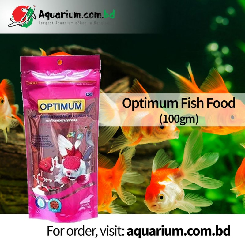 Fish Food 100gm- Optimum