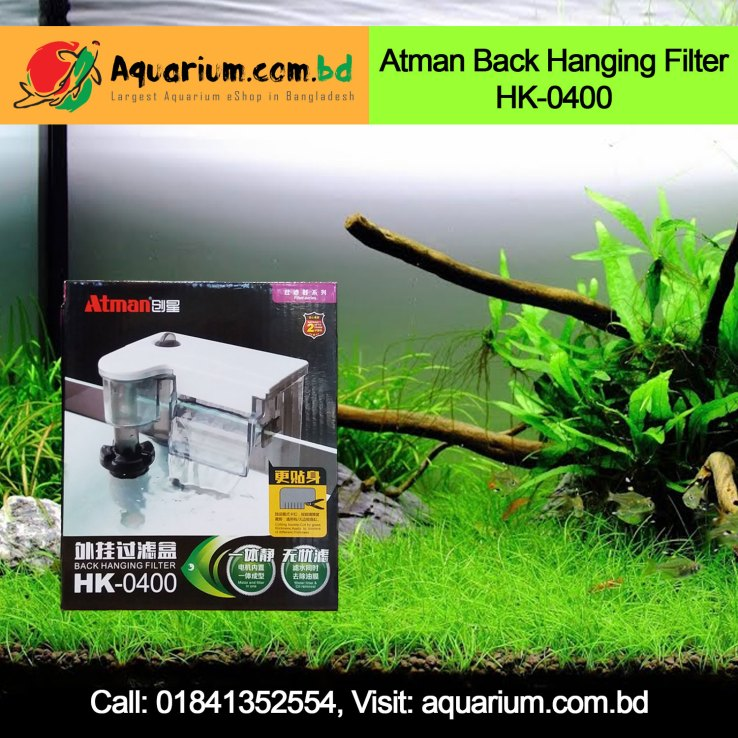 Atman Back Hanging Filter HK-0400