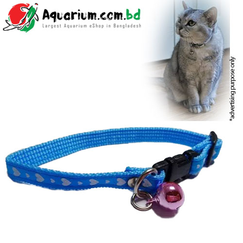 Cat Neck Belt- Sea Blue