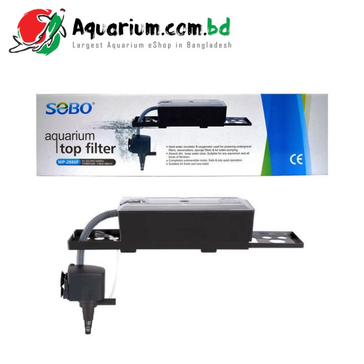 SOBO Aquarium Top Filter(WP- 2880F)