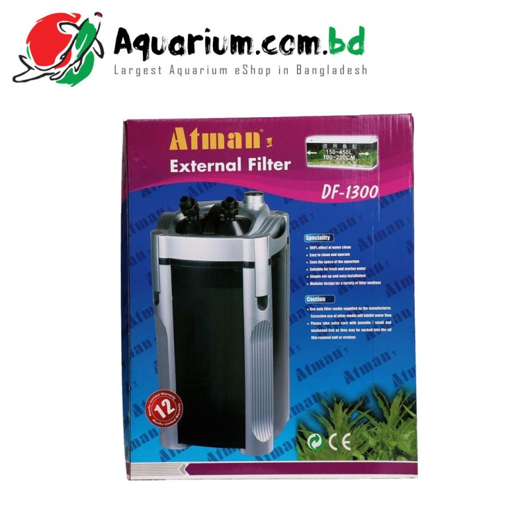 Atman External Filter DF- 1300