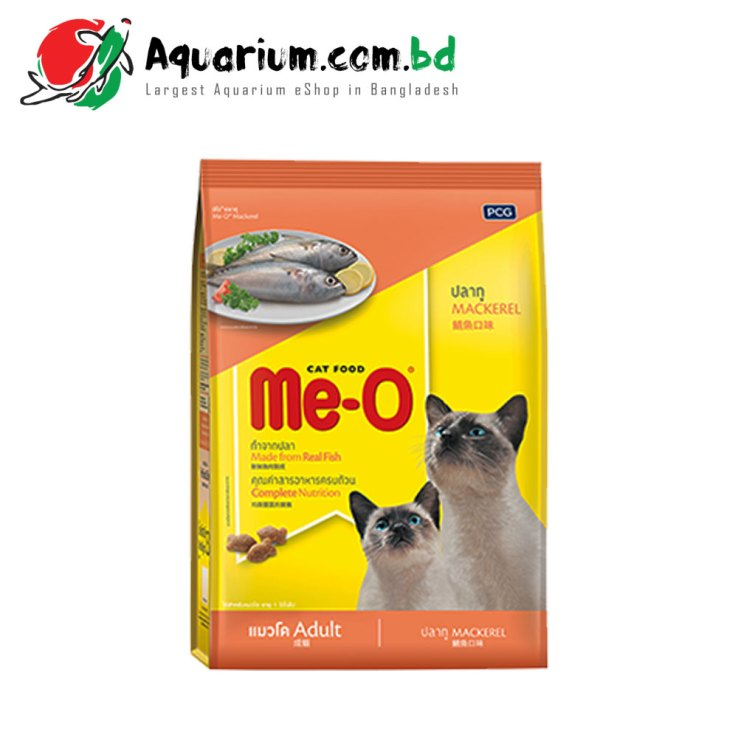 Me-O Cat Food Mackerel for Adult- 7KG