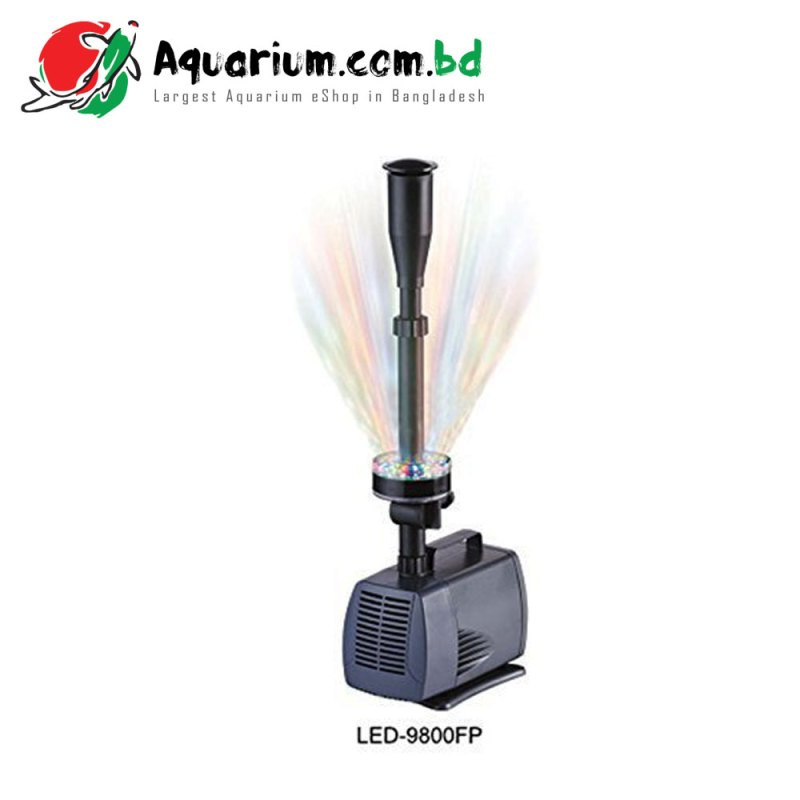 SOBO- LED Fountain Submersible Pump(LED- 9800FP)