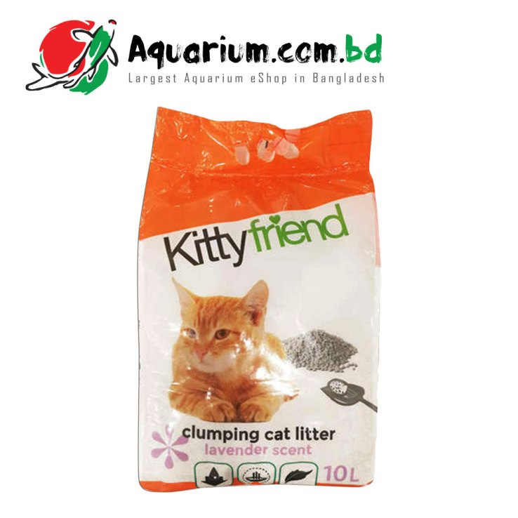 Kittyfriend Clumping Cat Litter Lavender Scent(10L)