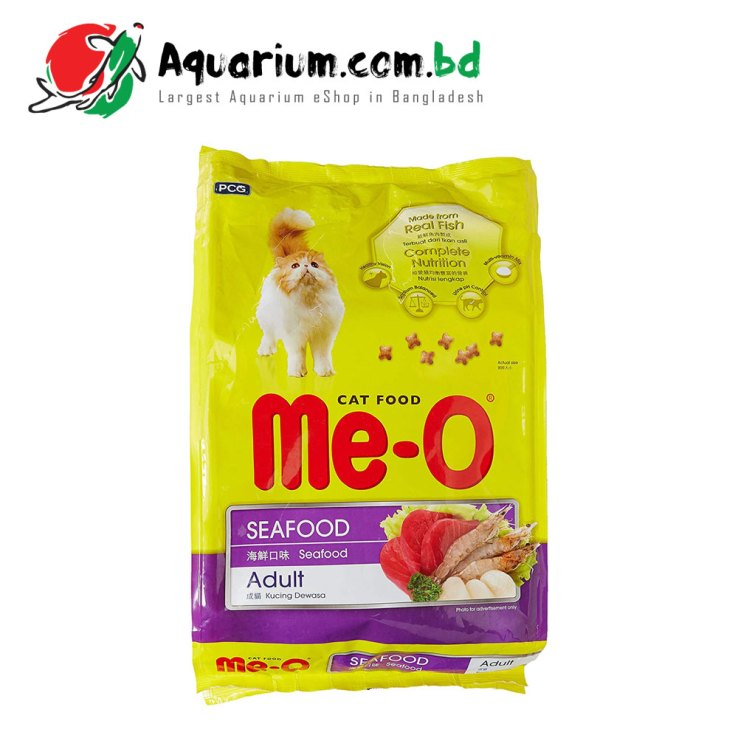 Me-O Cat Food- SeaFood Adult(3kg)
