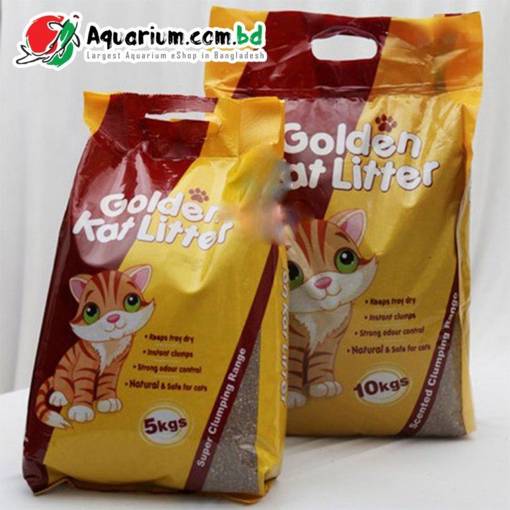 Golden Kat Litter- Unscented(5kgs)