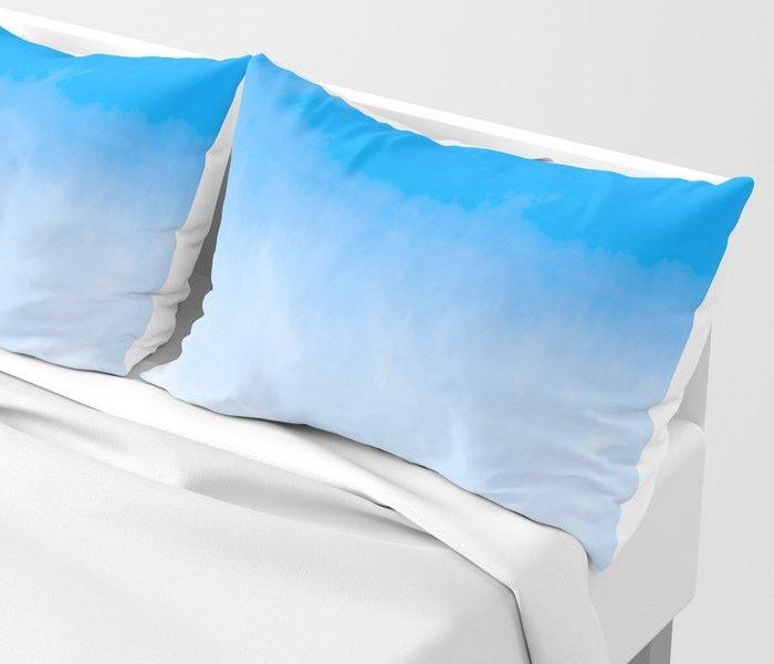 cobalt-blue-watercolor-shams