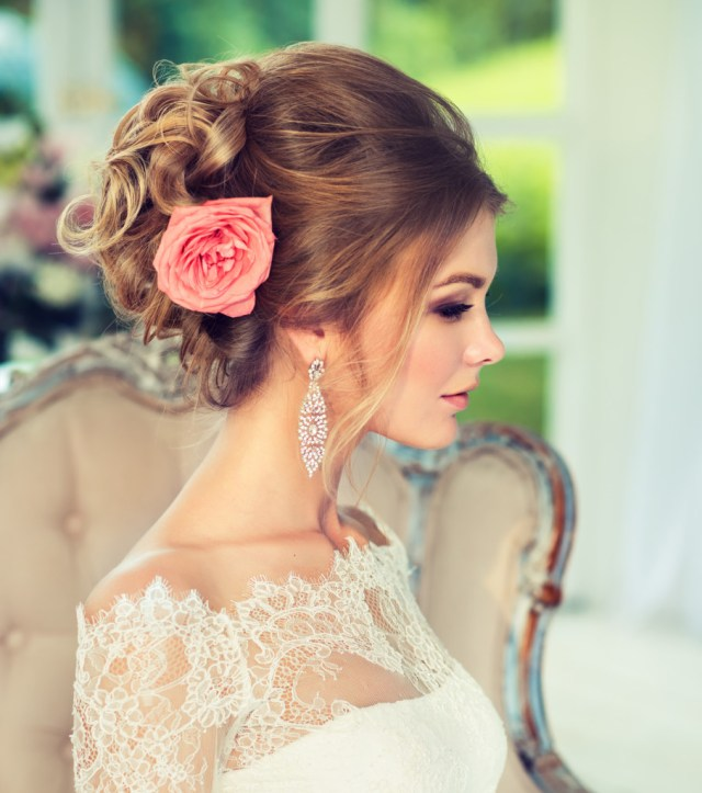 bridal hairstyles | aqua blue salon