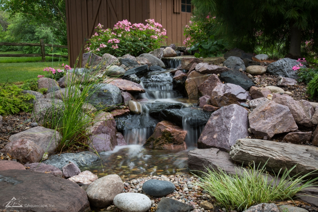 Building Backyard Waterfall And Pond