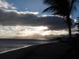 coucher de soleil Lanzarote Diving
