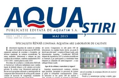Aquastiri mai 2015