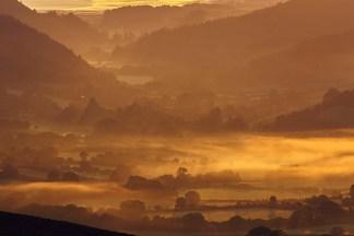 Sunrise on Exmoor print
