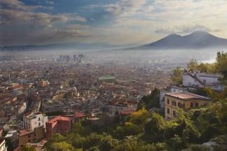 Naples view print
