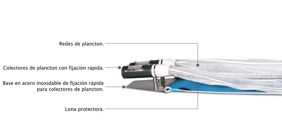 Patín Epibentónico especificaciones