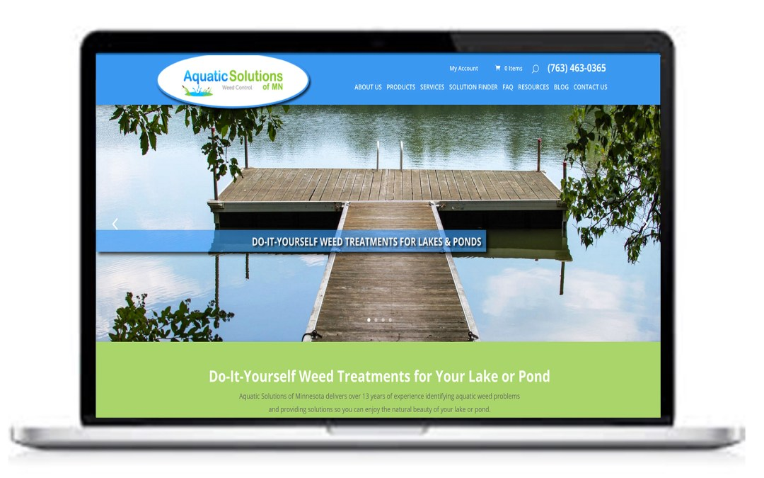 Welcome to the new Aquatic Solutions of Minnesota Website!