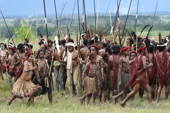 Wamena festival kmenů Dani, Lani, Yali