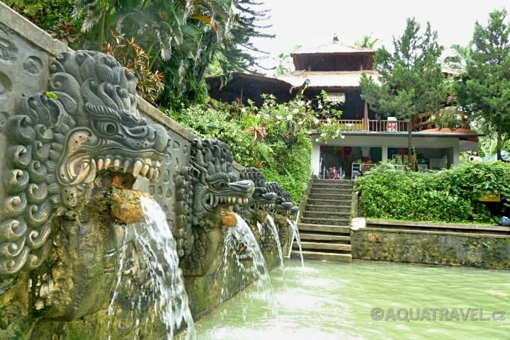 Sirné termální lázně Banjar