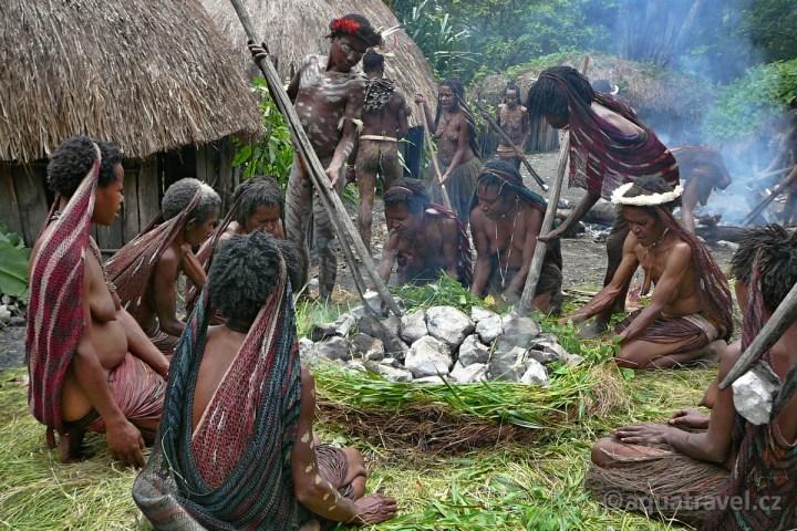 Vaření Jiwika Baliemské údolí