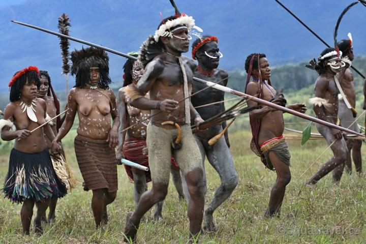 Wamena festival etnik