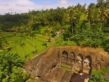 Gunung Kawi hrobky královen