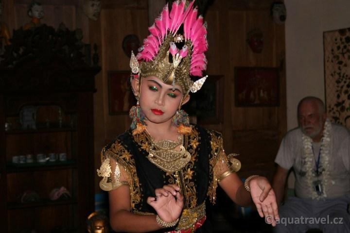 Tanečnice v Jogyakartě na Jávě