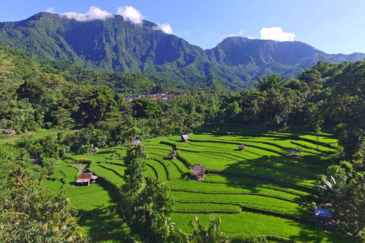 Údolí Bangle v Amedu