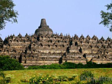 Borobudur celkový pohled