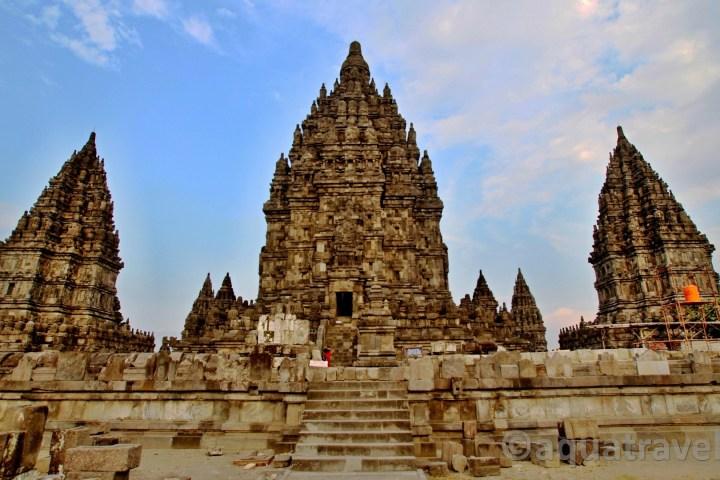Prambanan největší hinduistický chrám světa