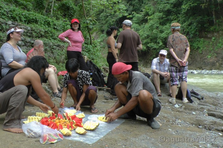 Piknik po treku v NP Gunung Leuser