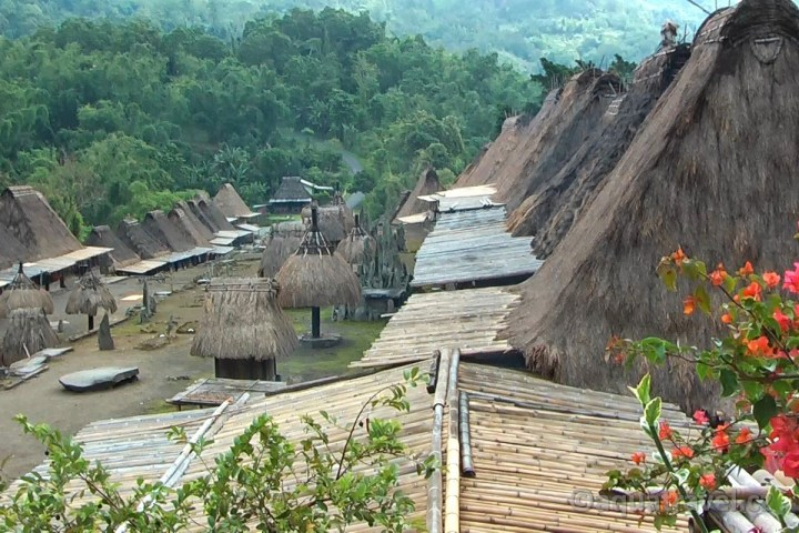 Bena - architektura etnika Ngada a Bhagu