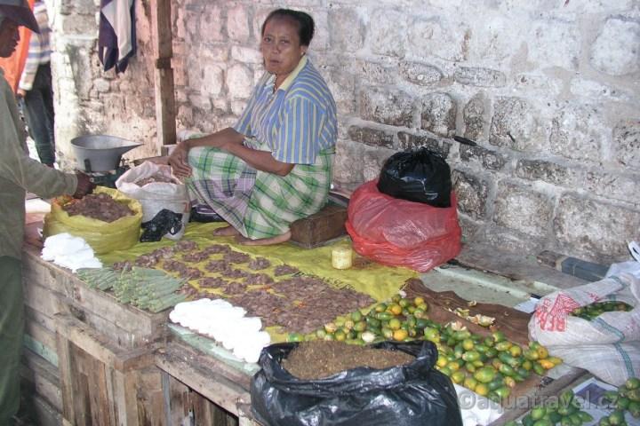 Prodavačka betelu na Timoru