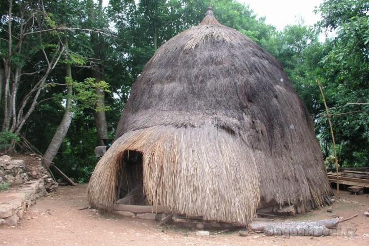 Lopo tradiční obydlí na Timoru