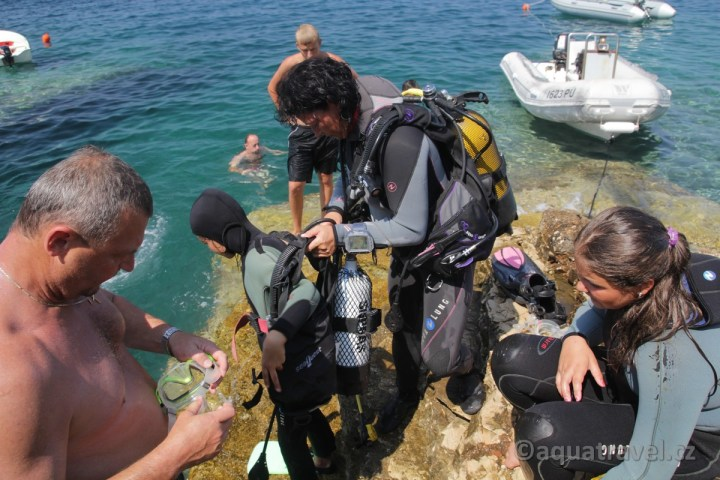 Kurz potápění pro děti