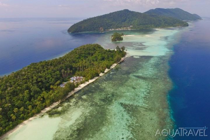 Exotické ostrovy Mansuar a Kri v ráji Raja Ampat