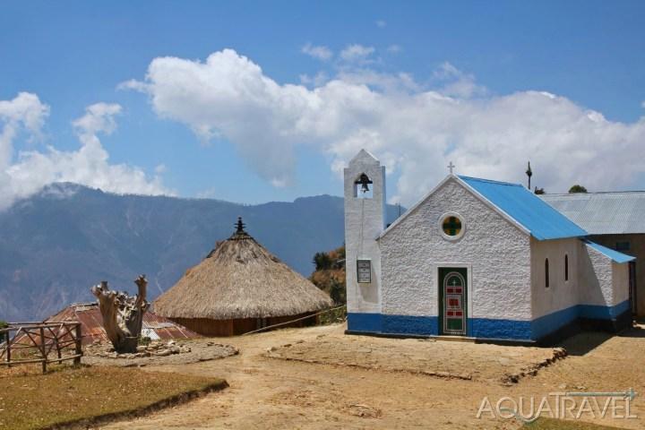Kostelík v Hatou Builico