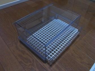 自作オーバーフロー濾過システム!引き出し式ウールボックス