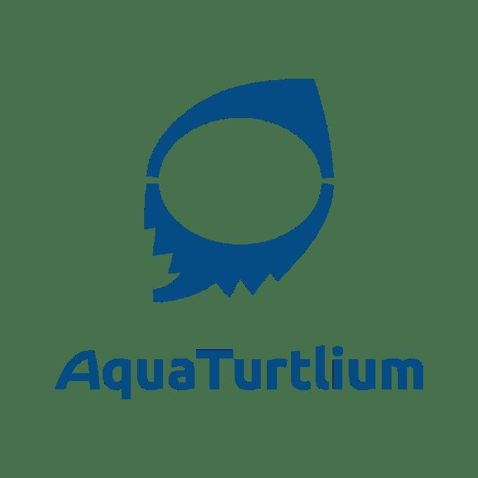 AquaTurtlium ロゴマーク バーティカル