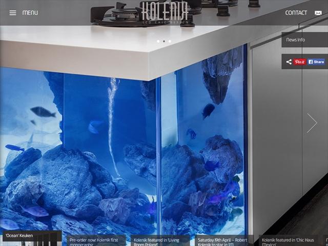 'Ocean' Keuken 収納スペースもしっかり装備