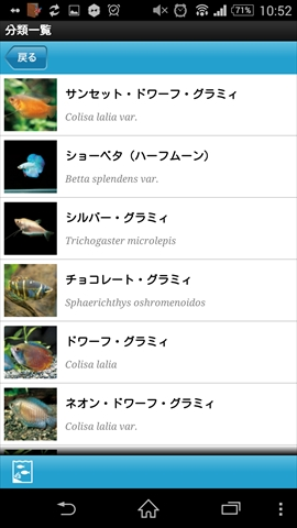 熱帯魚&水草図鑑322選 魚一覧