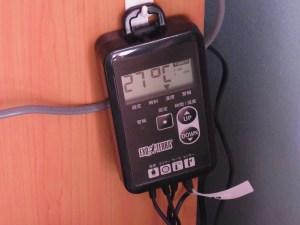 爬虫類飼育の必需品!ジェックス タイマーサーモで温度と照明を一元管理