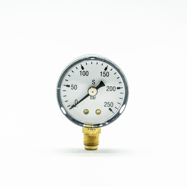 Flaschendruck Manometer