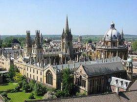 Some of the dreaming spires.