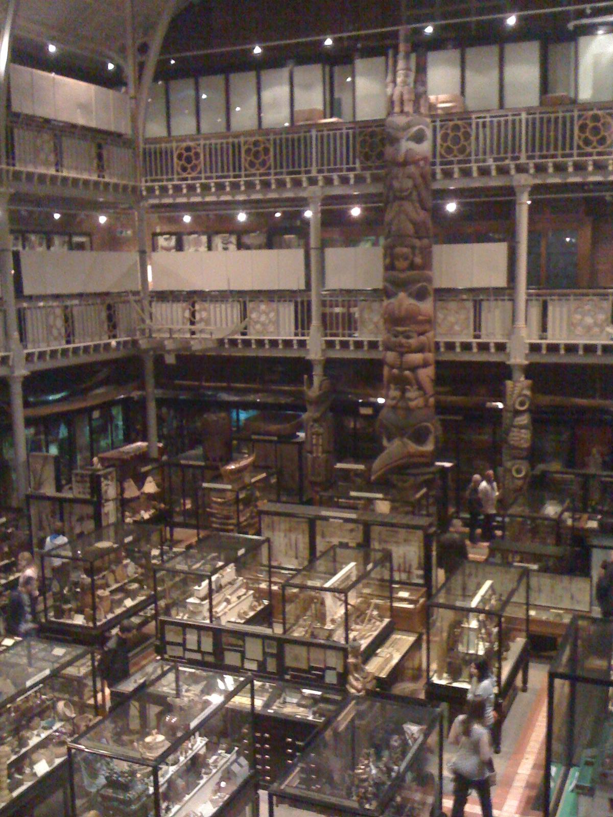Inside Pitt Rivers Museum