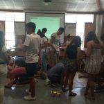 Alumnos Universidad de Vigo formándose como mentores