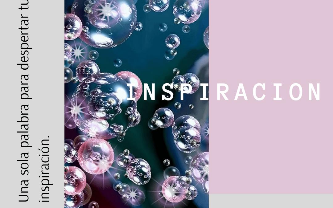 Despierta tu inspiración con una sola palabra