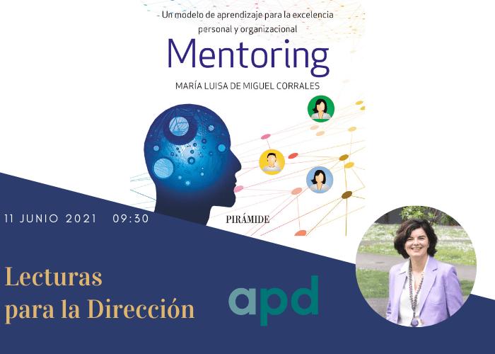 11 Junio 2021 Presentación libro «Mentoring» con APD