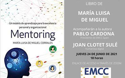 24 de Junio presentación virtual de mi libro «Mentoring» con EMCC Spain